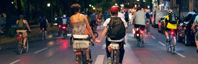 En bici por Múnich