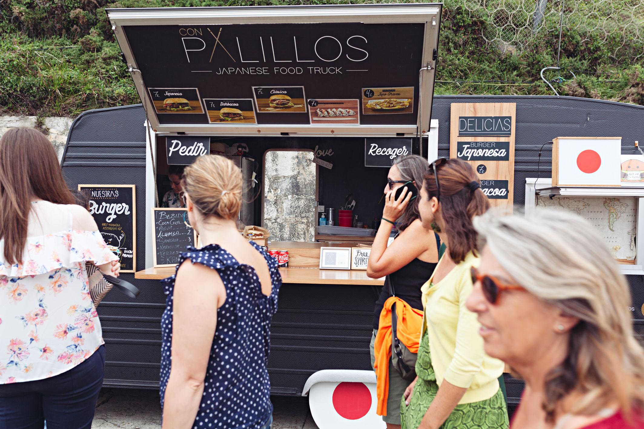 Evento de food trucks en Asturias