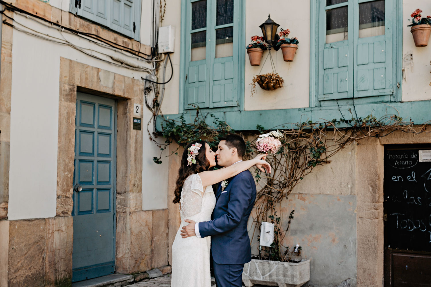 Fotos de boda en el casco antiguo