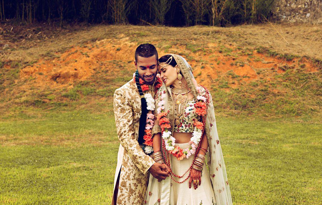 Paola y Chetan: una boda hindú en Asturias
