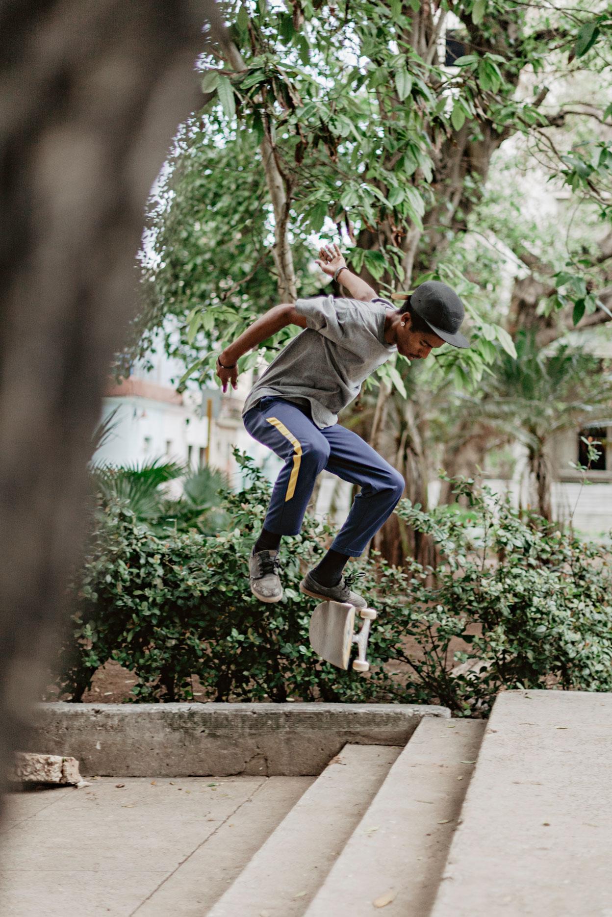 Skateboard en Cuba