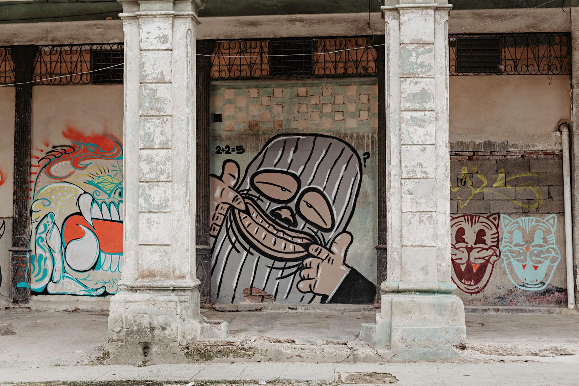 Foto de Graffiti en Cuba