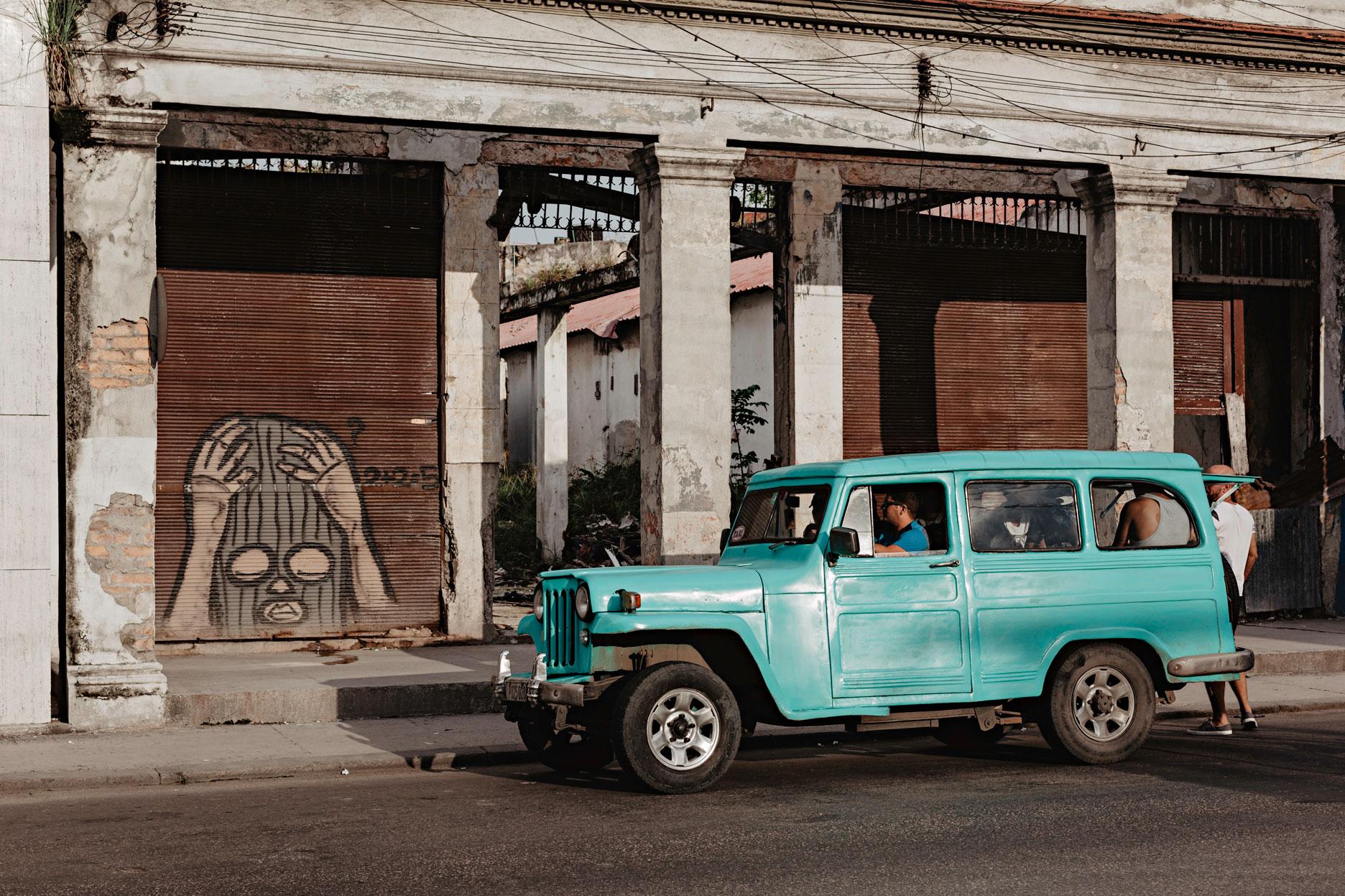 Graffiti en La Habana