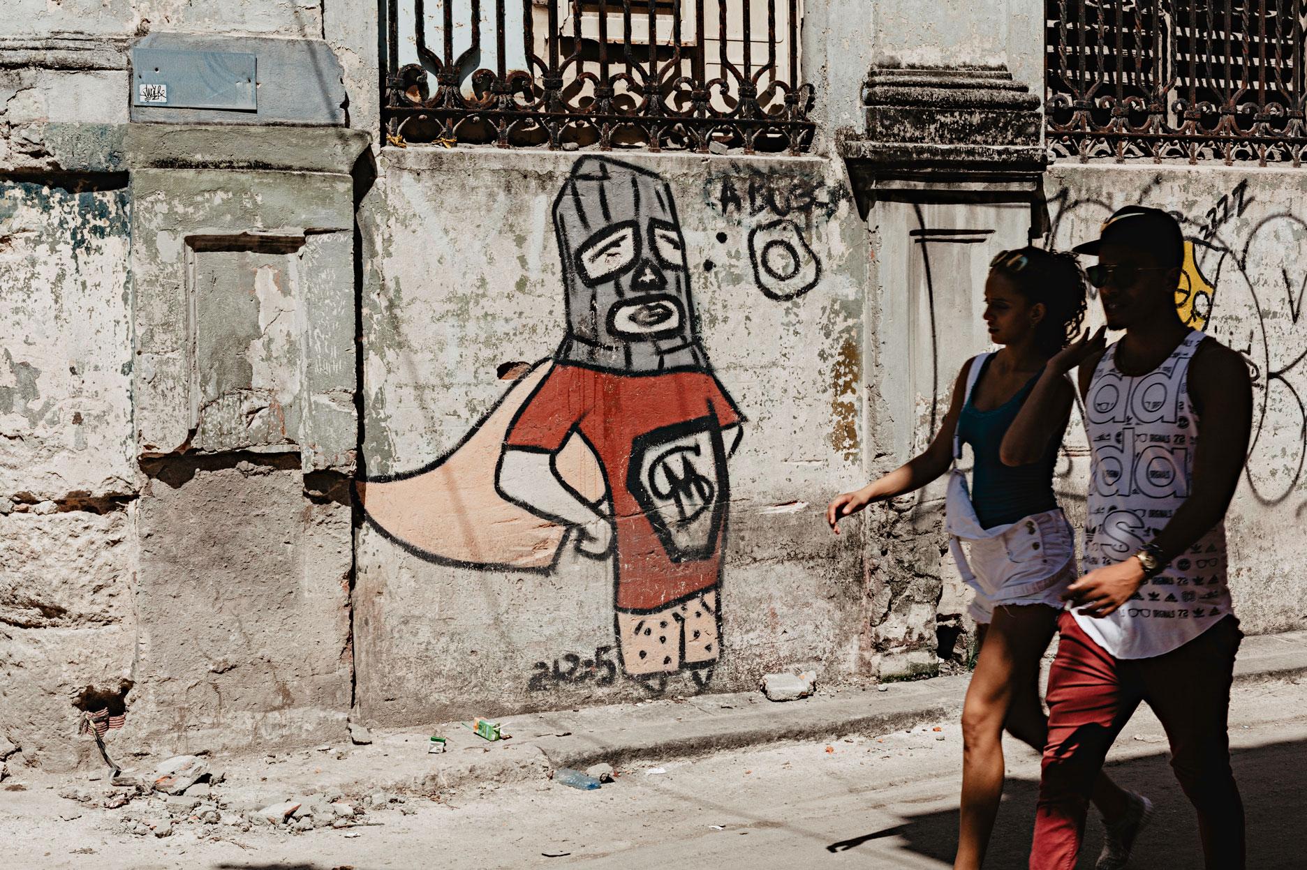 Graffitis en Cuba