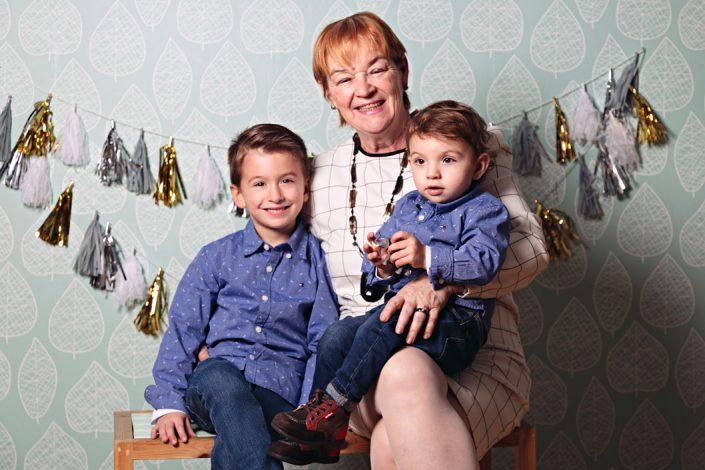 Fotos con abuelos