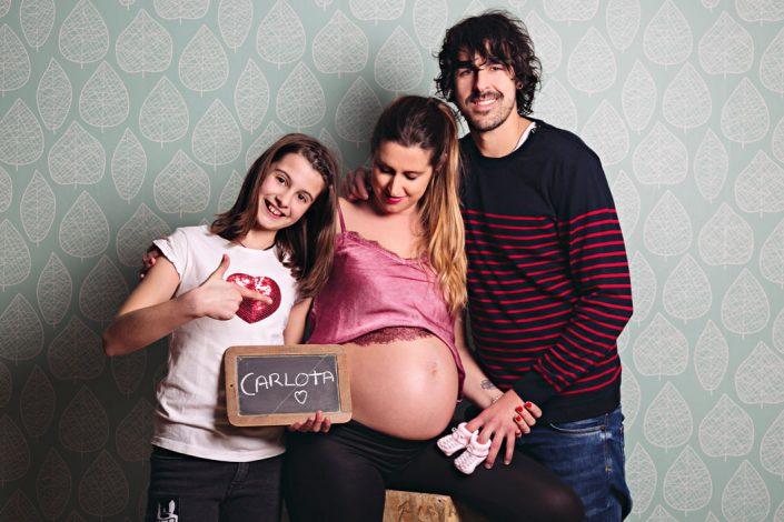 Sesión de fotos del embarazo