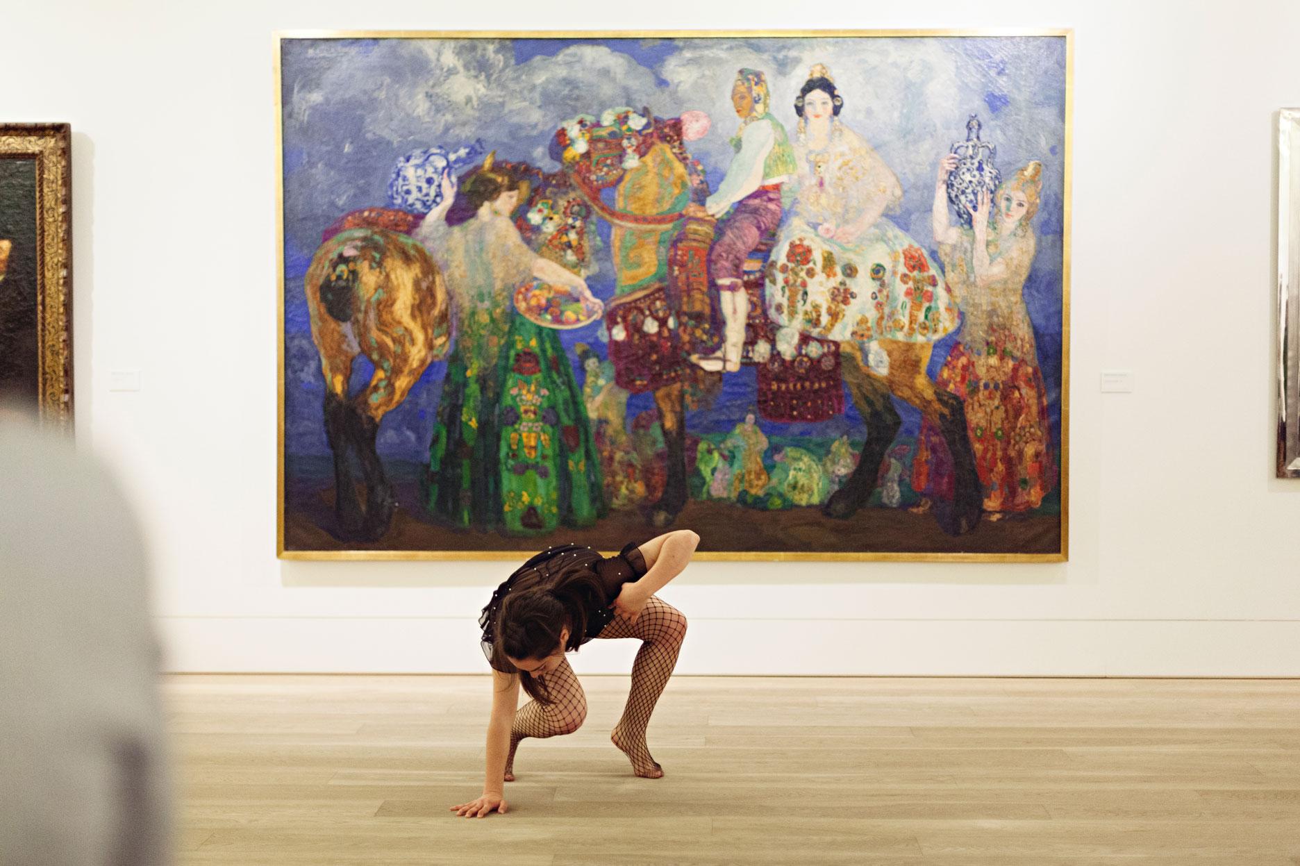Danza en el museo