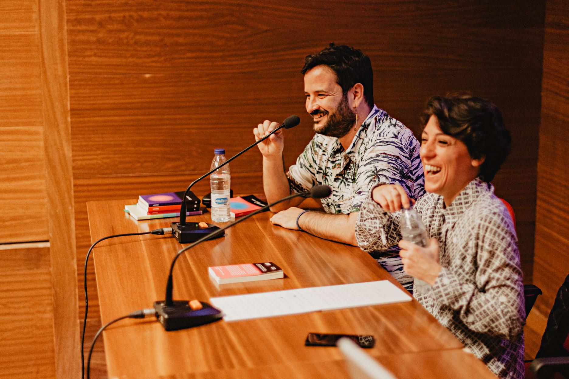 Sandra Cendal y Roy Galán