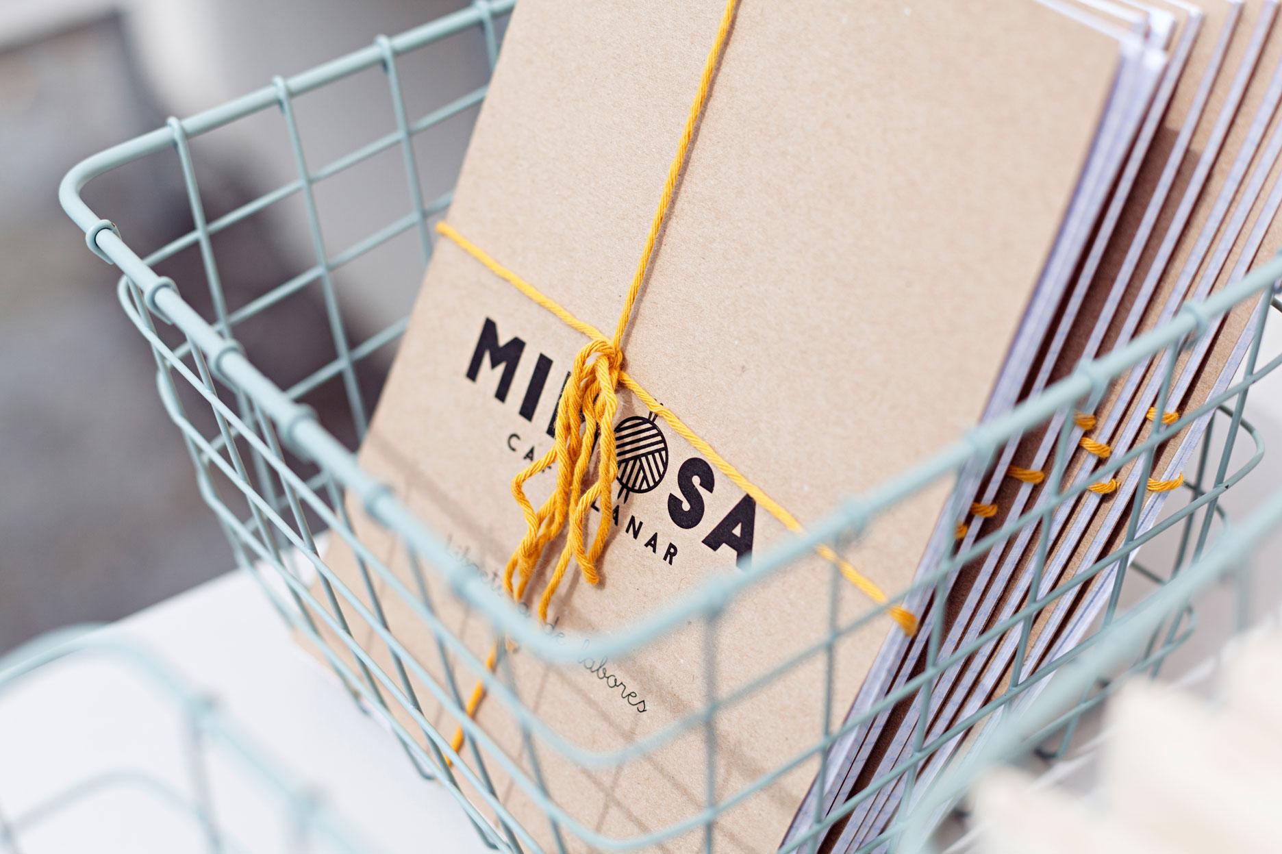 Mimosa café lanar