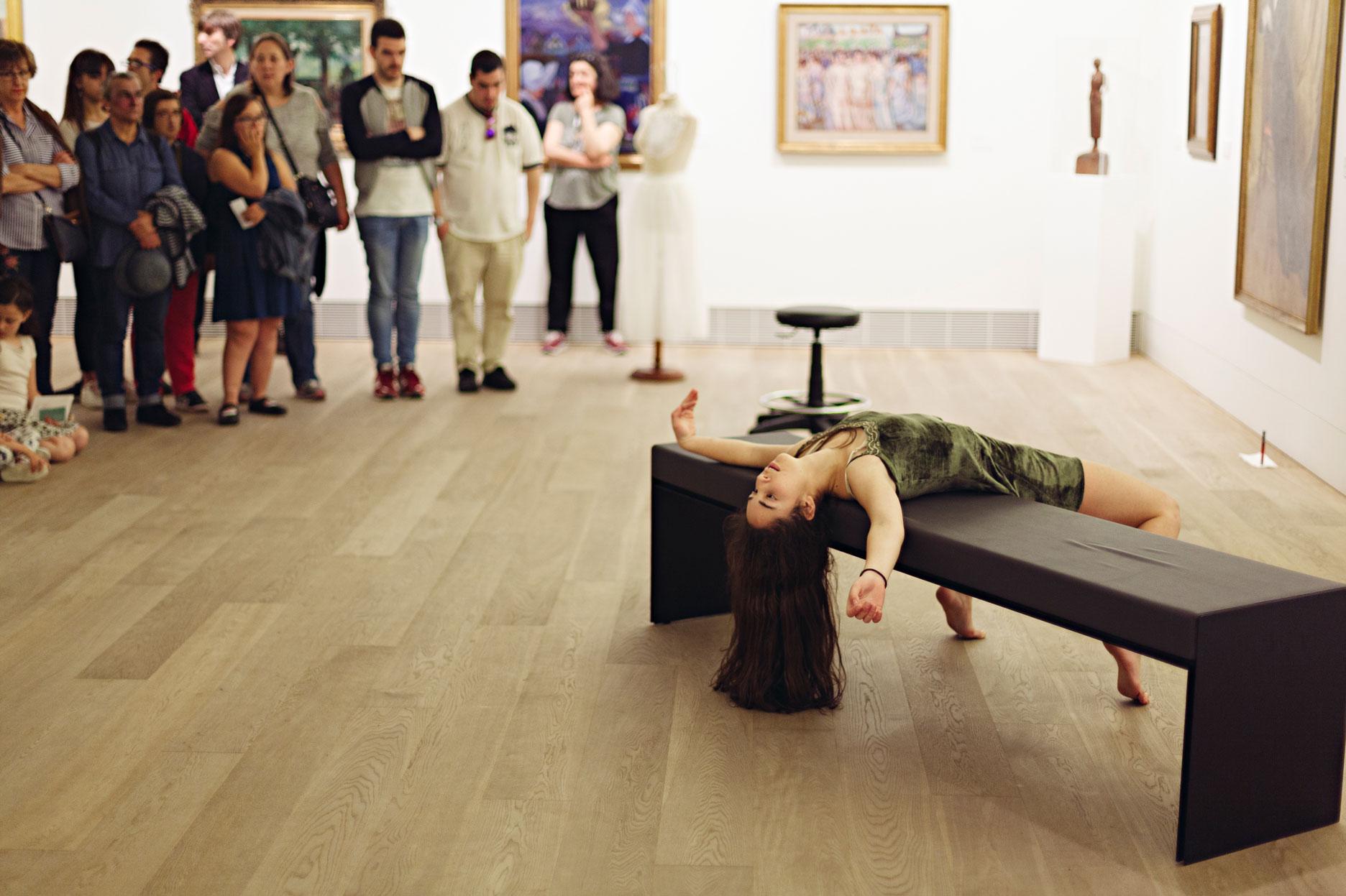 Espectáculo de danza contemporánea en Oviedo