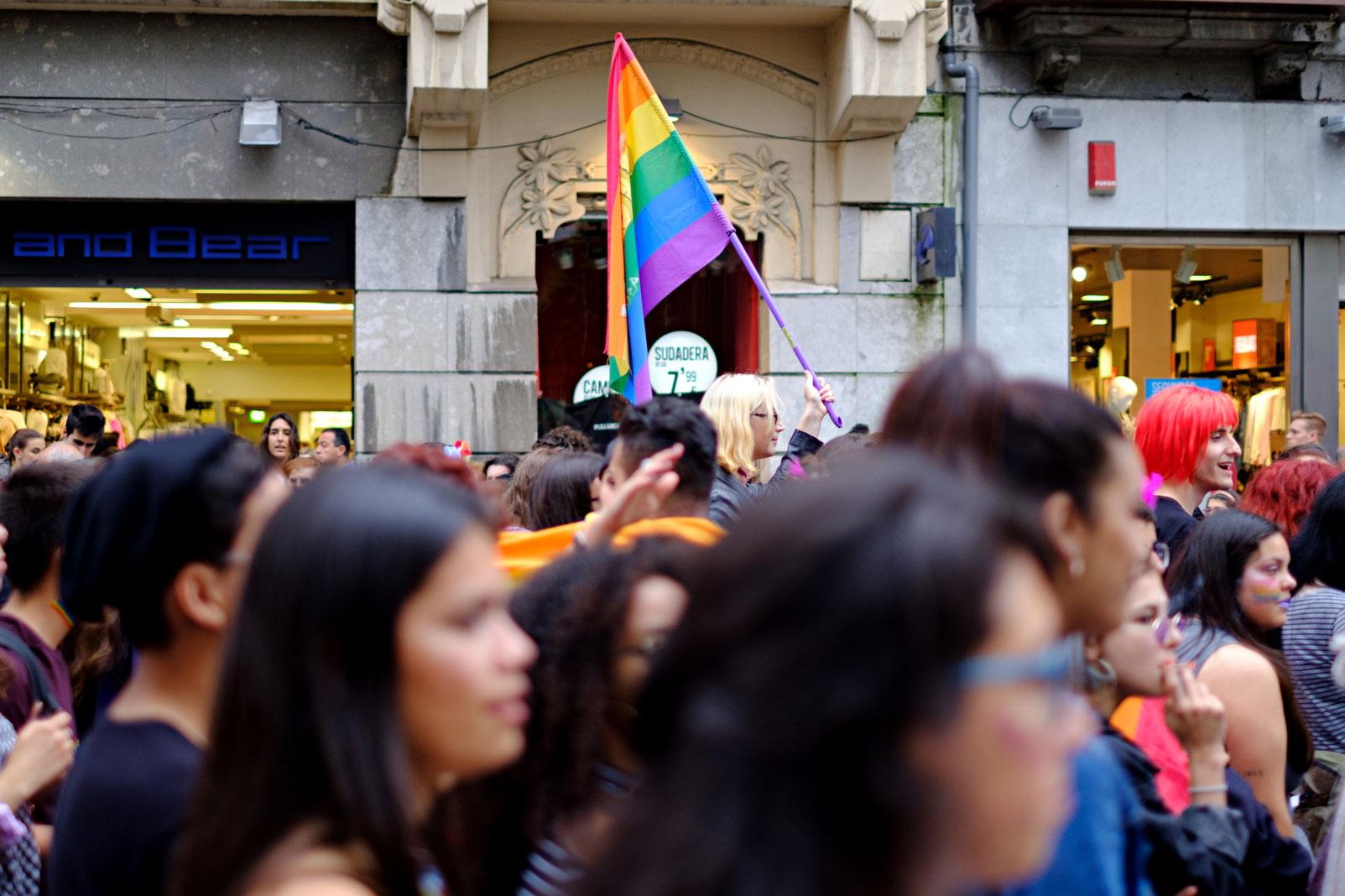 Manifestación del Orgullo en Oviedo