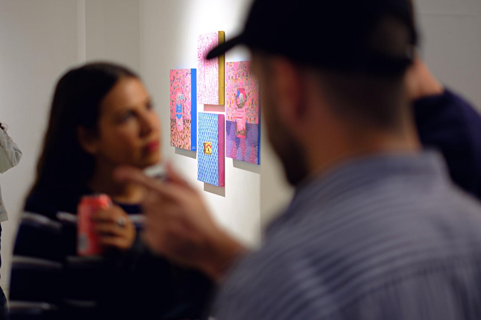 Exposición en la Galería Arancha Osoro