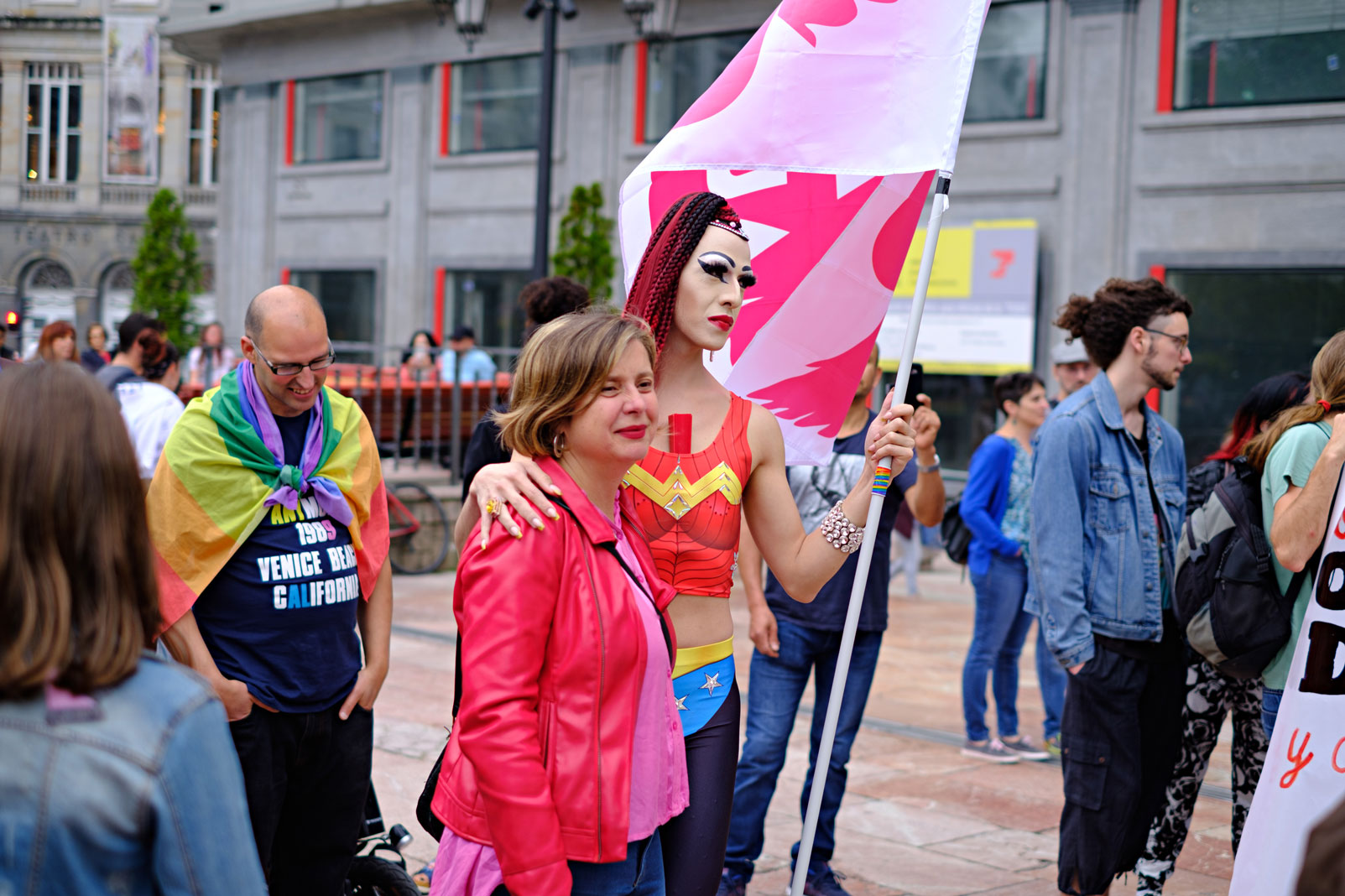 Manifestación en Oviedo