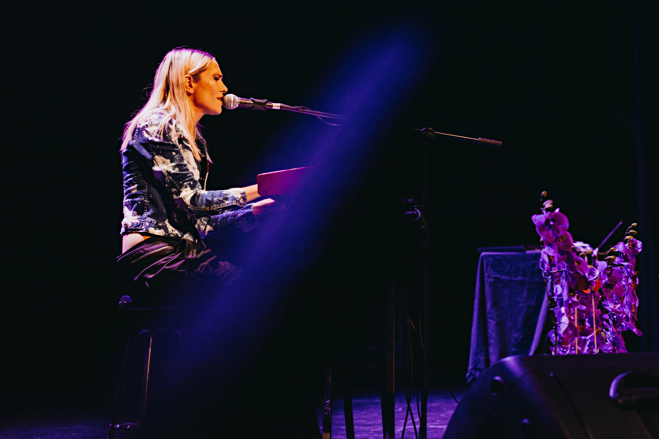 Brisa Fenoy en concierto