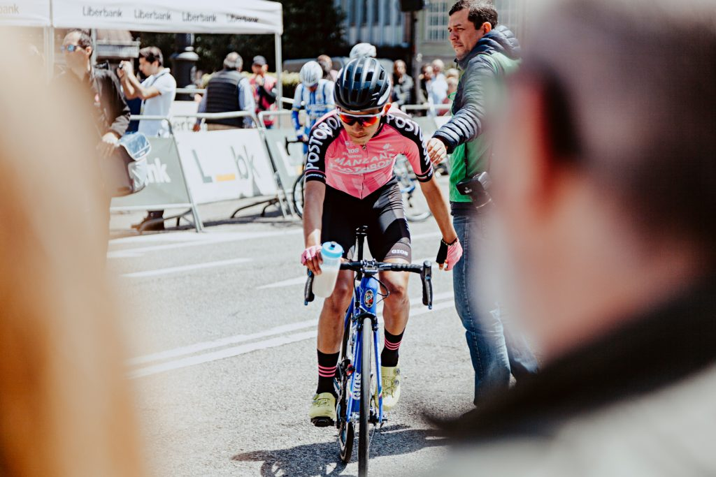Carrera ciclista en Oviedo