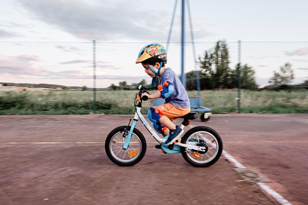Cómo andar en bici