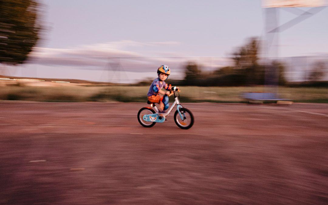 Pablo y su bici… o cómo aprender a pedalear con solo 3 años