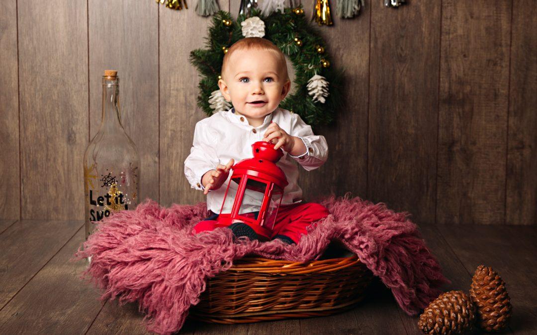 Sesión de fotos navideña, ¡el mejor regalo!