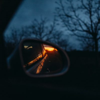 Lámina decorativa: luz de atardecer