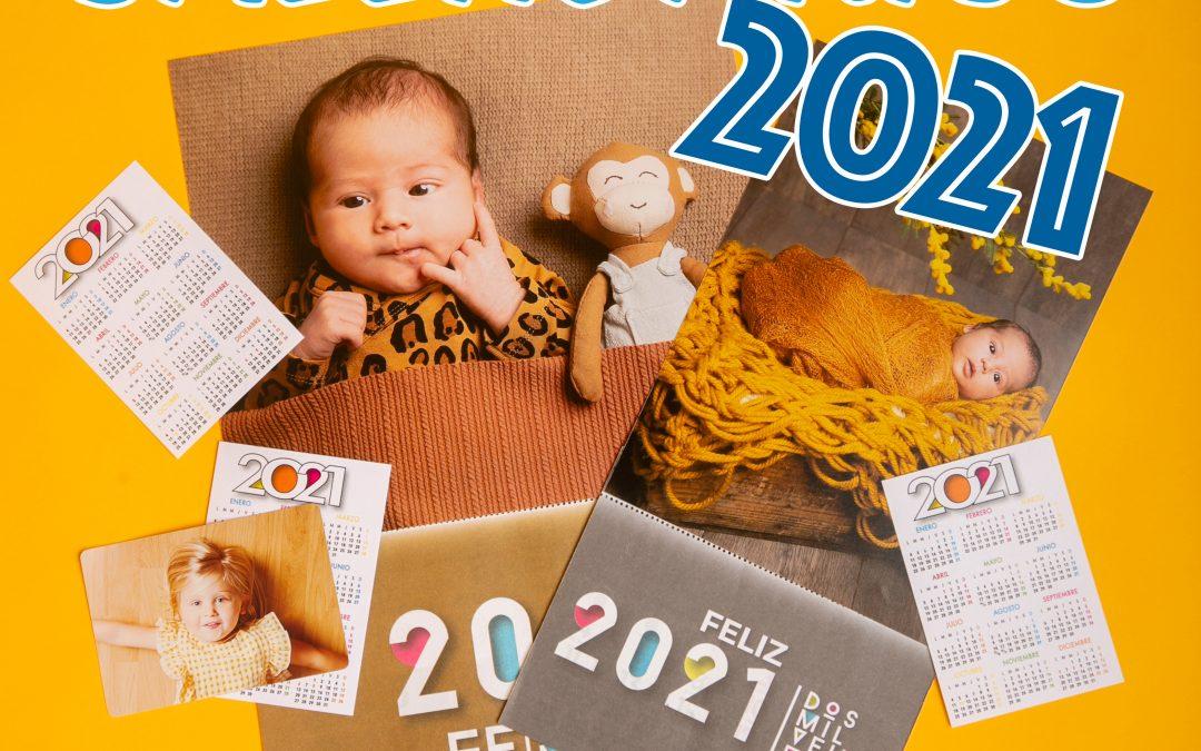Calendarios personalizados 2021: ¡para empezar bien el año!